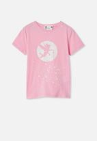 Cotton On - License short sleeve tee - pink
