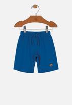 UP Baby - Boys sweat bermuda - dark blue