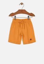 UP Baby - Boys sweat bermuda - orange