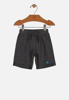UP Baby - Boys sweat bermuda - dark grey