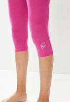 Jockey - 1 Pack paradise party 3/4 leggings - pink