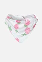 UP Baby - Girls rose hairband - pink & white