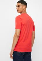 POLO - Julias big crest crew neck tee - red