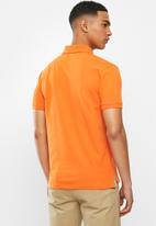 POLO - Carter custom fit ss pique golfer - orange
