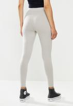 Missguided - Deep waist band legging - light grey