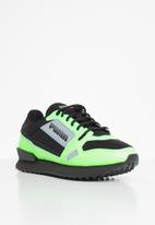 PUMA - Mile rider bright peaks - elektro green-puma black