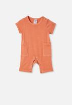 Cotton On - Beau playsuit - orange