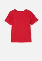Free by Cotton On - Girls license classic short sleeve tee - red
