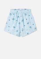 Free by Cotton On - Chelsea woven short - blue