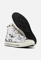 Converse - Chuck 70 blocked camo hoop hunter m hi - white/carbon grey