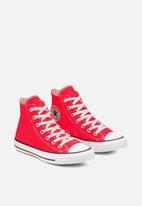 Converse - Ctas seasonal color l hi - bright crimson