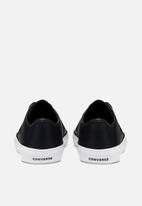 Converse - Cons costa synthetic leather space utility l ox - black & white
