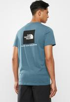 The North Face - Redbox short sleeve tee - blue