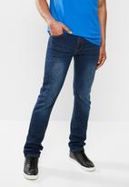JEEP - Straight jeans - dark blue
