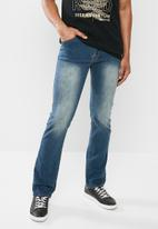 JEEP - Straight jeans - blue
