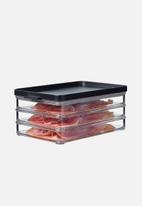 Mepal - Mepal omnia meat cuts trio fridge box - nordic black