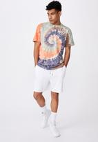 Factorie - Regular tie dye T-shirt - multi