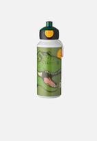 Mepal - Mepal campus pop-up drinking bottle 400ml - dino