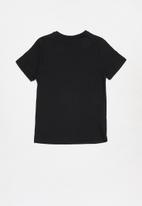 Rebel Republic - Teens printed short sleeve tee - black