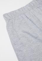 Rebel Republic - Shorts and tee pj set - blue