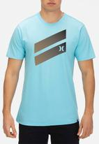 Hurley - Icon slash gradient tee - blue