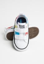 Converse - Converse worldwide geography class ox i - white