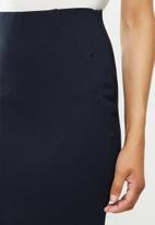 POLO - Caty stretch skirt -navy