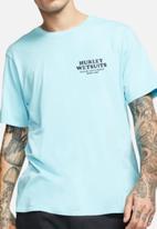 Hurley - Bnz peeler short sleeve - blue