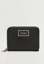 MANGO - Wallet mch lole  - black