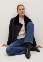 MANGO - Jacket dalsi - black