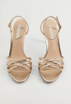 MANGO - Orca heel - gold
