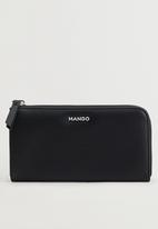MANGO - Wallet g catoira - black