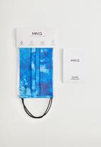 MANGO - Hat mskprint - blue
