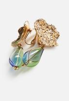 MANGO - Earrings amy - gold
