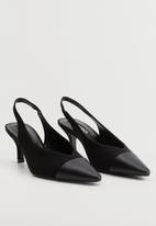 MANGO - Spring heel - black