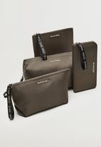 MANGO - Wallet g  nolan - brown