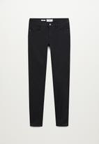MANGO - Jeans kim - black