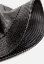 MANGO - Hat coco - black