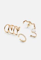 MANGO - Earrings meri - gold