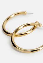 MANGO - Earrings ursula - gold