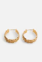 MANGO - Earrings aris - gold