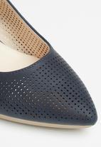 Butterfly Feet - Salute heel - navy