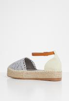 Plum - Dolly espadrille - blue