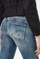 G-Star RAW - Lynn mid skinny rp ankle - antic faded kyanite