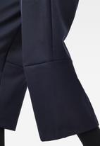 G-Star RAW - 3d wide crop pants - naval blue