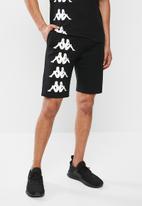 KAPPA - Authentic symul shorts - black & white