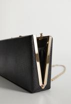 MANGO - Bag mch three  - black