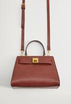 MANGO - Bag mch odon - brown
