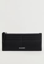 MANGO - Card holder g catoira  - black