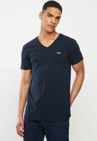S.P.C.C. - Hayne signature v-neck T-shirt - ink